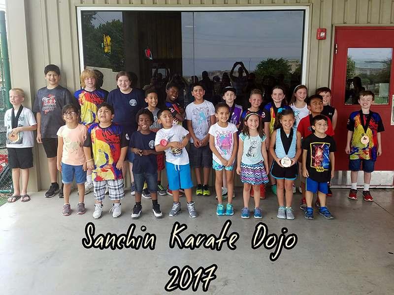 Competition Party, Sanchin Karate Dojo San Antonio, TX