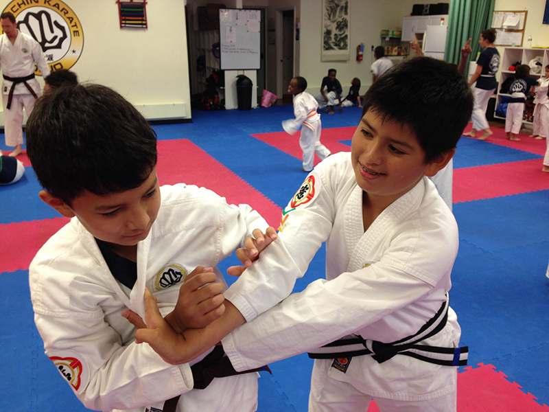 Kids training in San Antonio