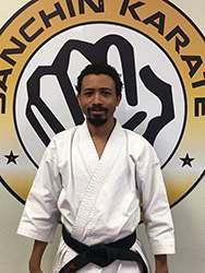 Sempai Damien McKinney_Sanchin Karate